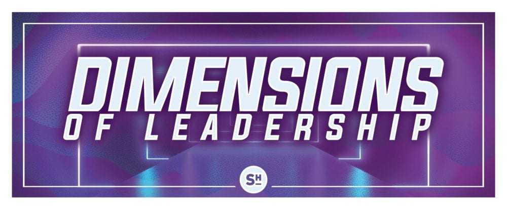 Dimensions of Leadership 9:30 a.m.